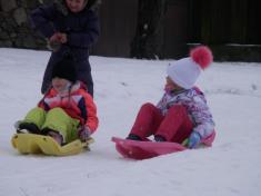 Hraní na sněhu 2021